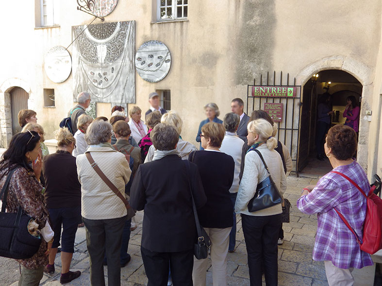 Guided tour : In the footsteps of Picasso